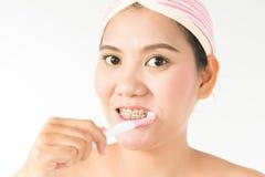 Denti sani Fotografia Stock