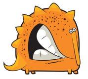 Denti stridenti del dinosauro del giocattolo Immagine Stock Libera da Diritti
