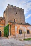 Dentice di Frasso Castle. San Vito dei Normanni. Puglia. Italy. Stock Photography