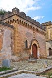 Dentice di Frasso Castle. San Vito dei Normanni. Puglia. Italy. Royalty Free Stock Images