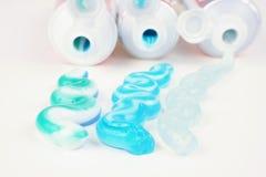 dentifricio in pasta Immagine Stock Libera da Diritti