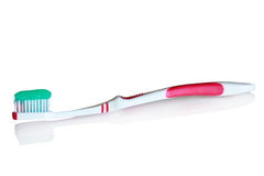 Dentifricio in pasta Immagine Stock
