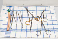 Dentist's instruments Stock Photos