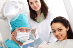 Dentist�s office Stock Images