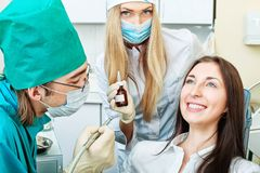 Dentist Royalty Free Stock Images