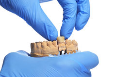 At the dentist Royalty Free Stock Images