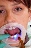 The dentist Royalty Free Stock Photography