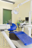 Dentist. 's chair in examination room Royalty Free Stock Image