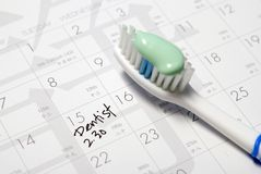Dentist appointment Royalty Free Stock Photo