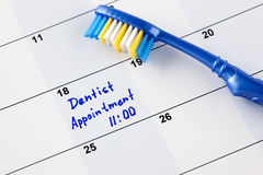 Dentist appointment Stock Image