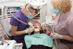At the dentist Stock Image