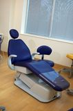 Dentist chair. Purple dentist chair Stock Photos