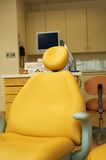 Dentist chair. Orthodonthics/Dentist chair Stock Images