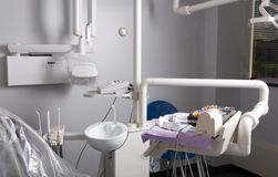 Dentist chair Royalty Free Stock Photography