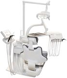 Dentist Chair Cutout Royalty Free Stock Photography