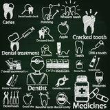 Dentist by chalk Stock Photo