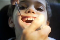 Fun In Dentist Stock Photography