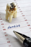 Dentist date Stock Images