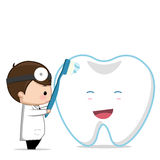 Dentist dental care Stock Images