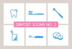 Dentist & Dental Icons No. 2 Stock Photos