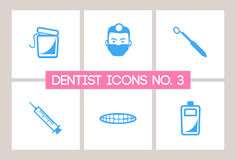 Dentist & Dental Icons No. 3 Royalty Free Stock Photos