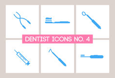 Dentist & Dental Icons No. 4 Stock Photo