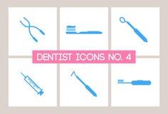Dentist & Dental Icons No. 4. A set of Dentist and Dental Icons Stock Photo