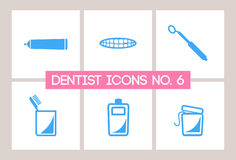 Dentist & Dental Icons No. 6 Royalty Free Stock Photo