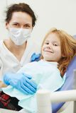 Dentist doctor with child Royalty Free Stock Image