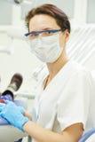 Dentist doctor portrait Royalty Free Stock Image