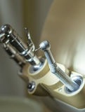 Dentist drill instrument. In a dental office Royalty Free Stock Images