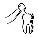 Dentist drill Stock Image