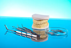 Dentist equipment Royalty Free Stock Photos