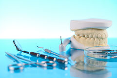 Dentist equipment Royalty Free Stock Image