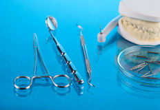 Dentist equipment Stock Photography