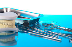 Dentist equipment Stock Image