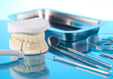 Dentist equipment Stock Images