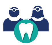 Dentist Icon stock illustration