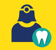 Dentist Icon Royalty Free Stock Image