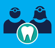 Dentist Icon Stock Photography