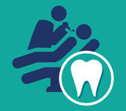Dentist Icon Stock Images