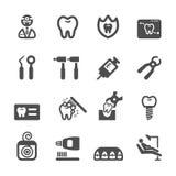 Dentist icon set,  eps10 Royalty Free Stock Photo