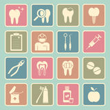 Dentist icon royalty free illustration