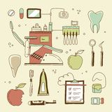 Dentist icon Royalty Free Stock Photography