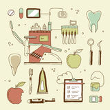 Dentist icon Royalty Free Stock Photos