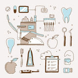 Dentist icon Stock Photo