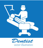 Dentist icons Stock Image