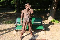Dentist impostor - living statues Stock Image