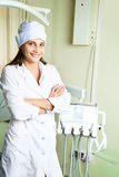 Dentist In Her Office Stock Images