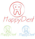 Dentist logo Royalty Free Stock Photography